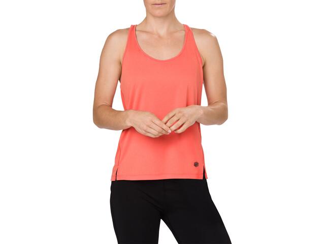 1415fb1ba asics Loose - Camiseta sin mangas running Mujer - rojo